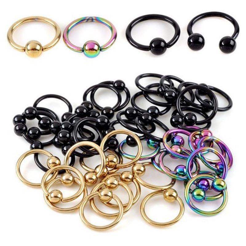 Peircings Body Jewelry  Aliexpress Buy 10PCS Lot Pinksee Titanium Anodized