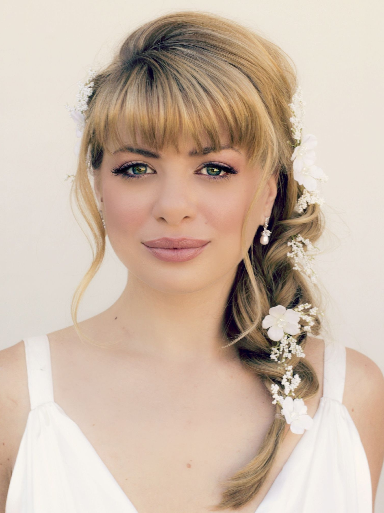 Pictures Of Wedding Hairstyles For Medium Length Hair  15 Best Collection of Wedding Hairstyles For Medium Length