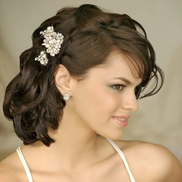 Pictures Of Wedding Hairstyles For Medium Length Hair  Medium Length Wedding Hairstyles Wedding Hairstyle