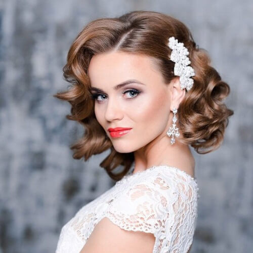 Pictures Of Wedding Hairstyles For Medium Length Hair  50 Medium Length Hairstyles We Can t Wait to Try Out