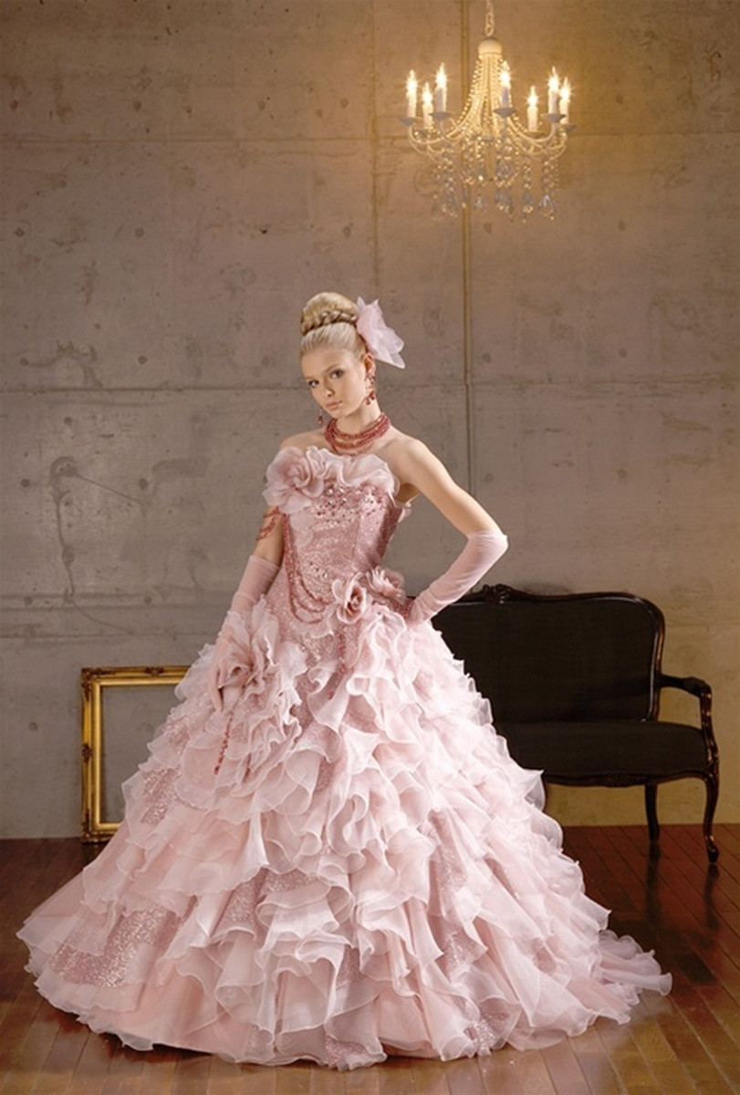 Pink Gowns Dress For Weddings  Pink Wedding Dresses and Bridal Gowns