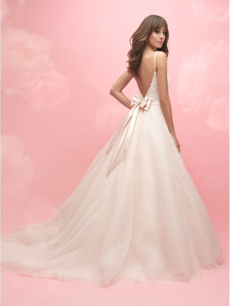 Pink Gowns Dress For Weddings  Allure Bridals Romance 3050 Adorable Baby Pink Tulle