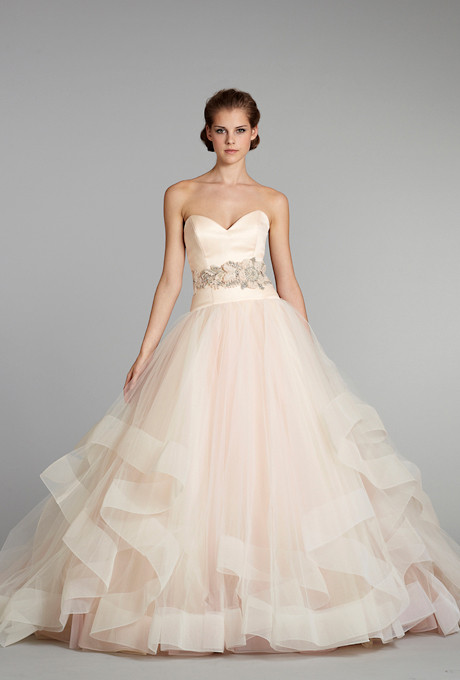 Pink Gowns Dress For Weddings  My Wedding Dress Pink Wedding Dresses from Spring 2013