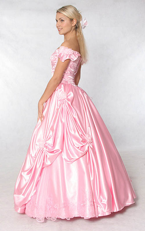 Pink Gowns Dress For Weddings  bridal style and wedding ideas pink wedding dress