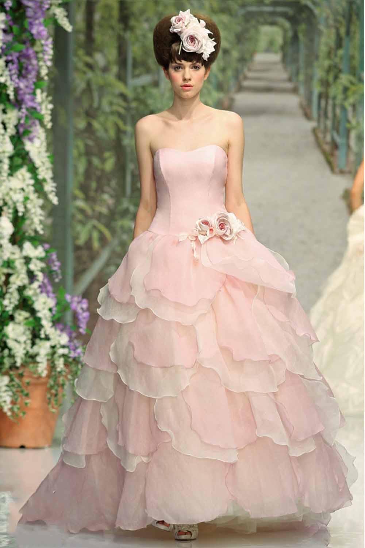 Pink Gowns Dress For Weddings  Pink Wedding Dress