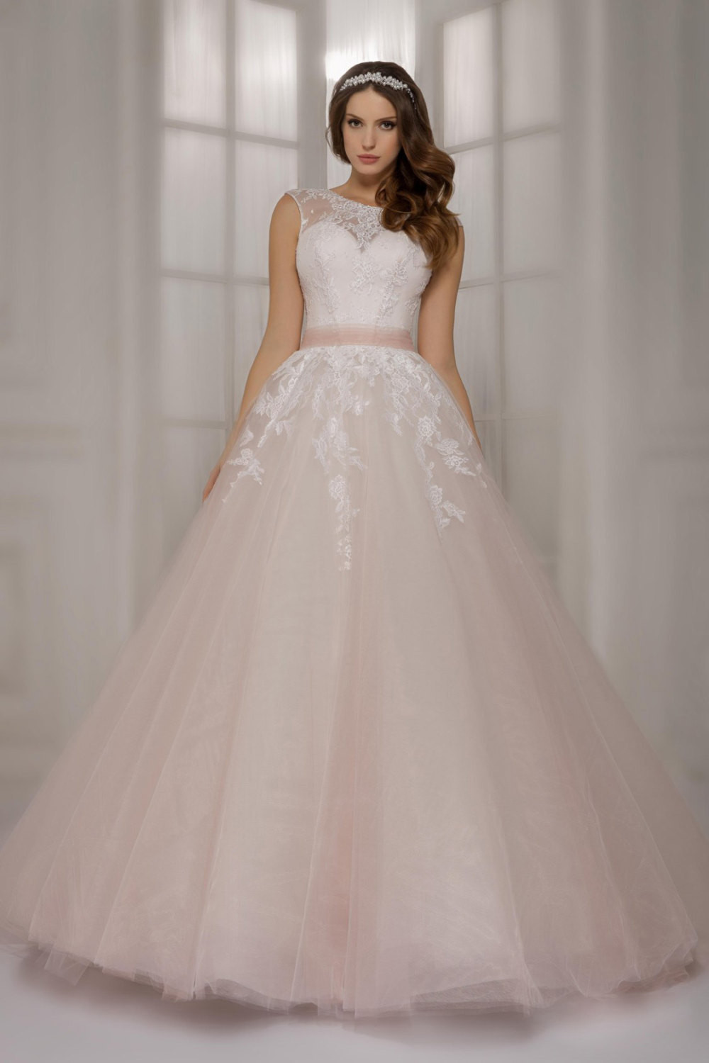 Pink Gowns Dress For Weddings  Aliexpress Buy Newest light pink lace ball gowns