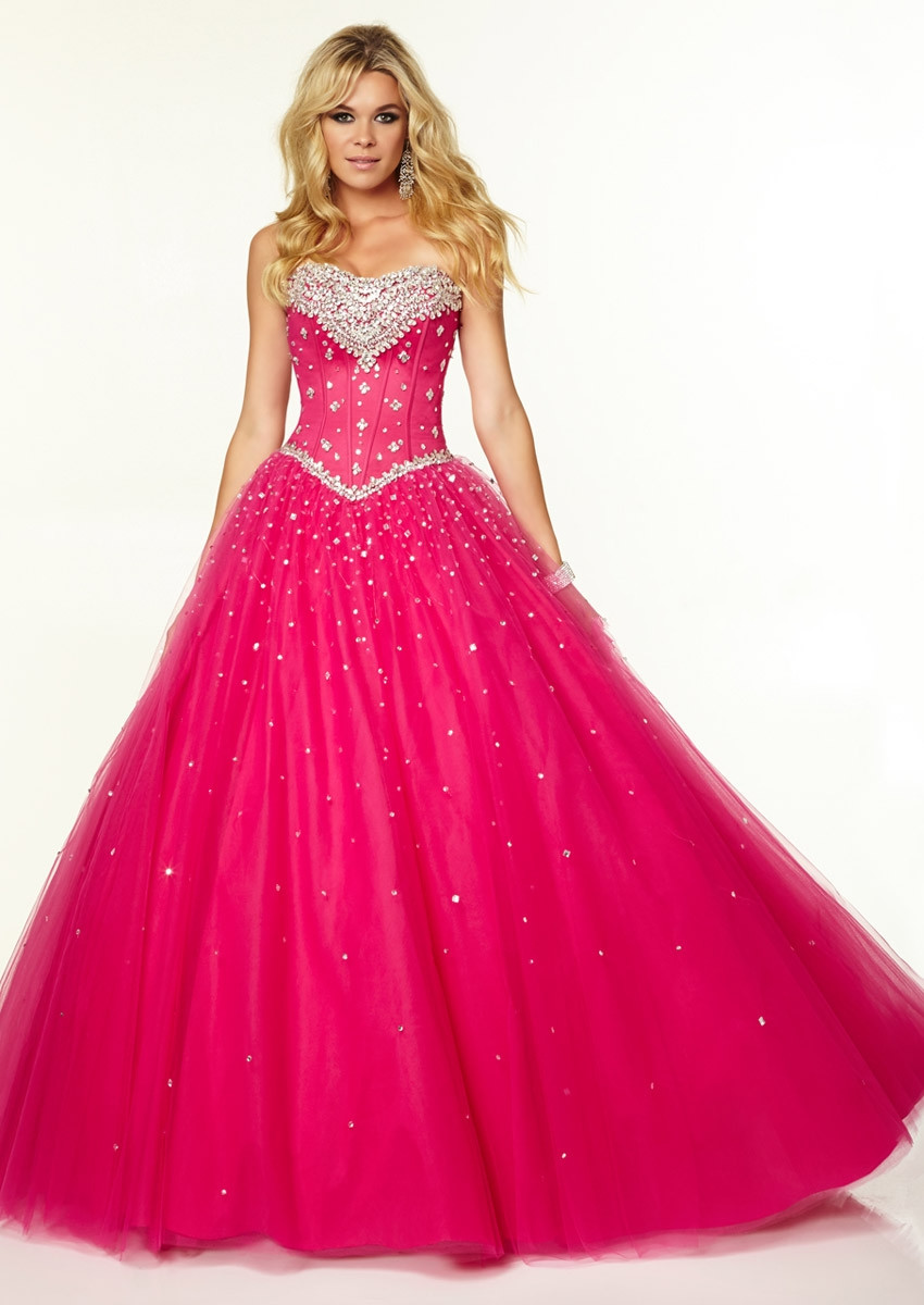 Pink Gowns Dress For Weddings  Hot Pink Wedding Dresses for Irresistible Bridal Look