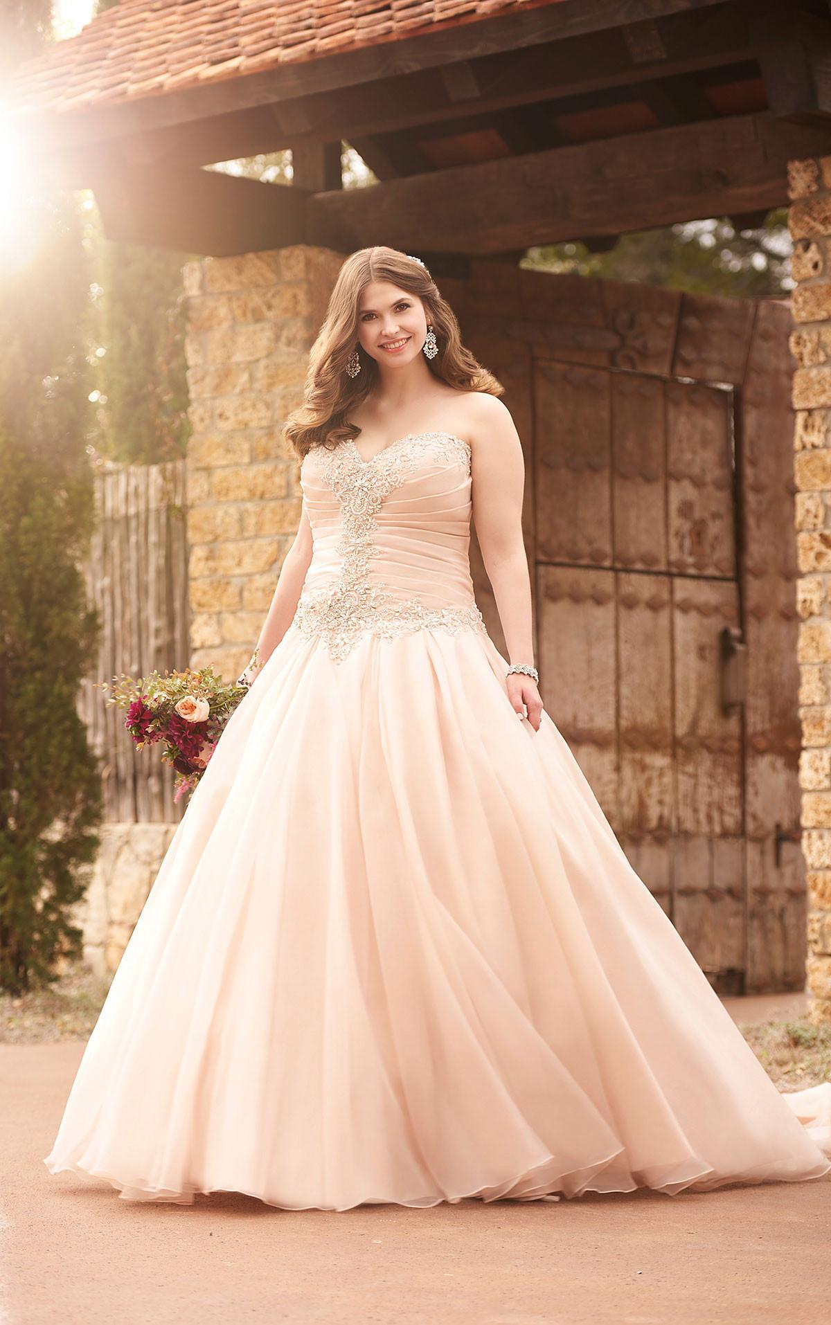 Pink Gowns Dress For Weddings  Best Plus Size Wedding Dresses — Shop Beautiful Wedding