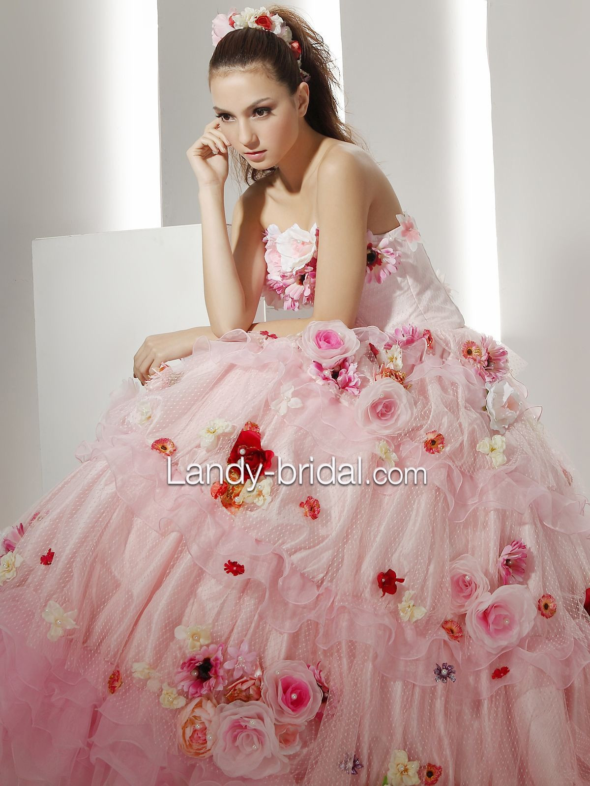 Pink Gowns Dress For Weddings  WP images Pink wedding dress
