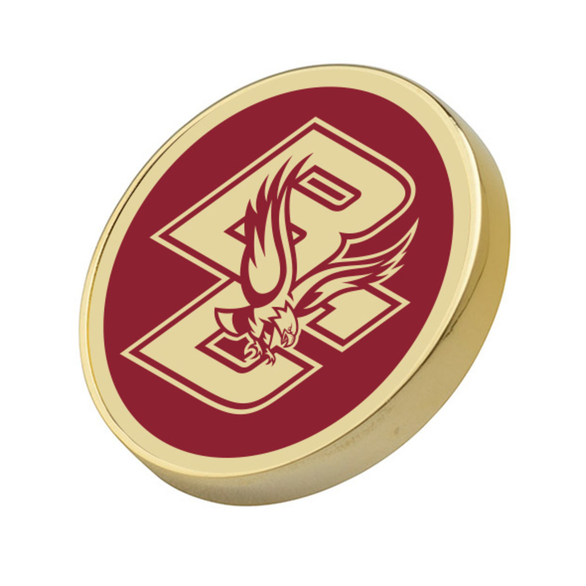 Pins Boton  Boston College Enamel Lapel Pin at M LaHart & Co