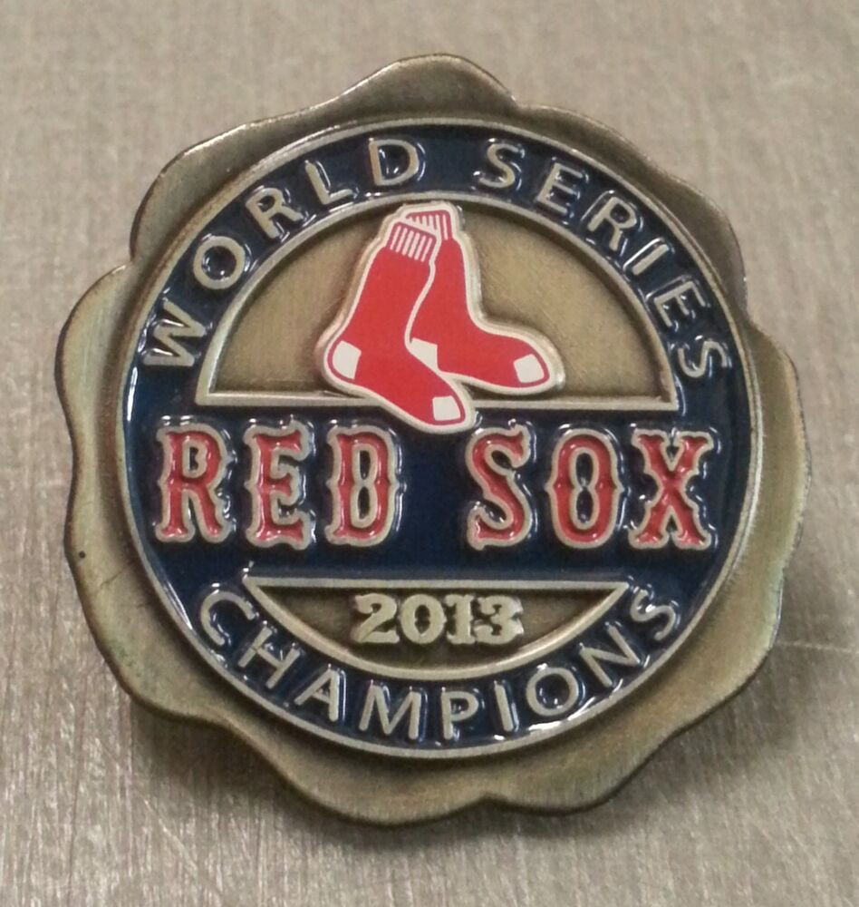 Pins Boton  BOSTON RED SOX 2013 WORLD SERIES Champions Lapel Pin