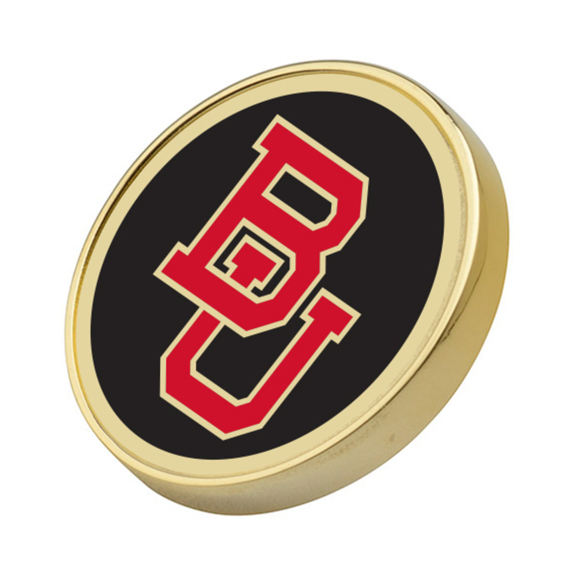 Pins Boton  Boston University Enamel Lapel Pin at M LaHart & Co