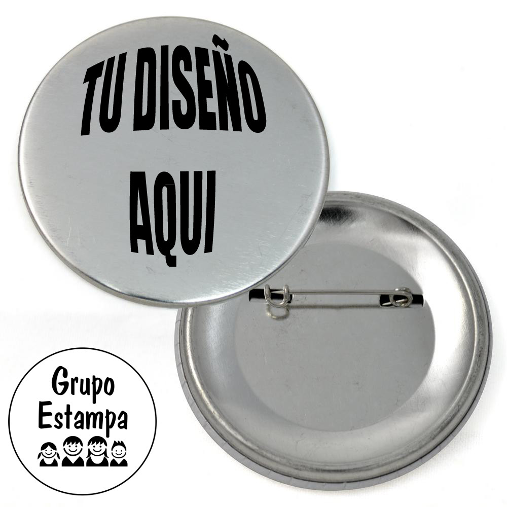 Pins Boton  Pin Boton 56 Mm Grupo Estampa