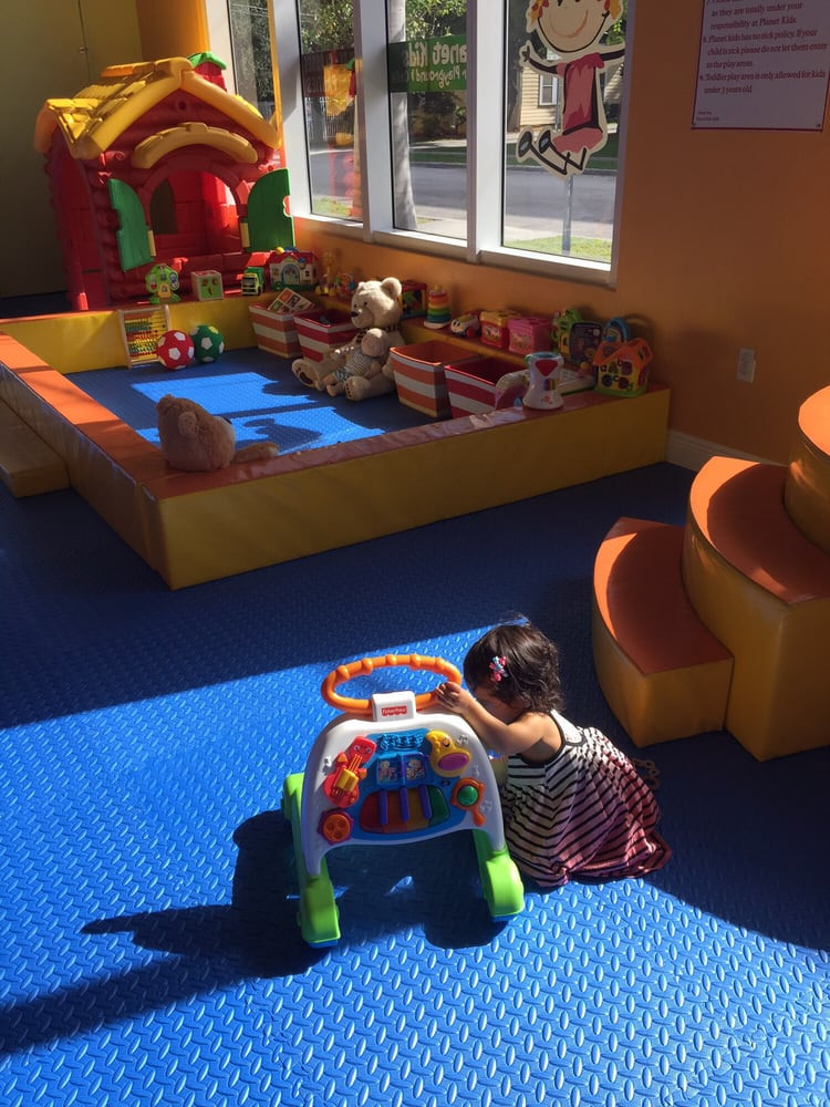 Planet Kids Indoor Playground  Everything is padded in this area Yelp