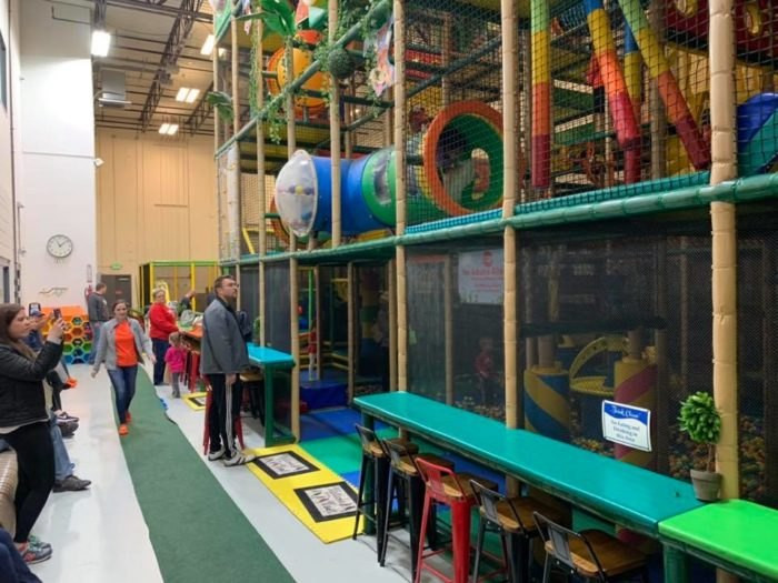 Planet Kids Indoor Playground  Kid s Planet In Brownsburg Indiana Is A Four Story Indoor