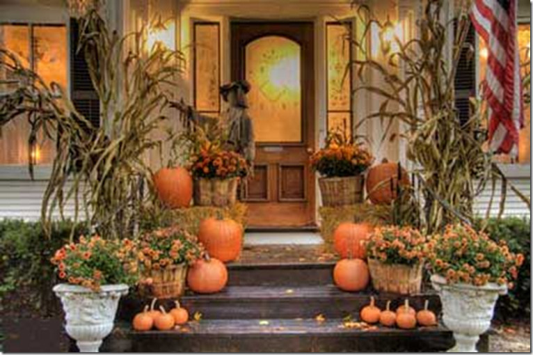 Porch Decorated For Halloween  Pickles and Cheese Front Porches Decorated for Halloween
