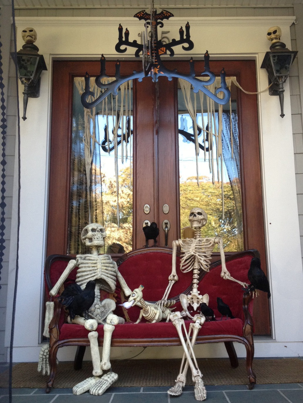 Porch Decorated For Halloween  Cute Halloween Front Porch Decorations to Greet Your Guests