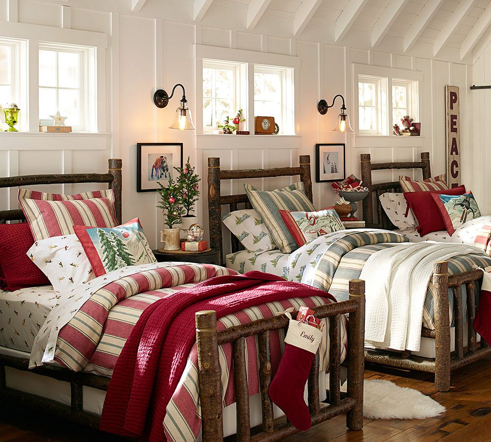 Pottery Barn Kids Decor  The Story Behind Our New Log Bed Pottery Barn