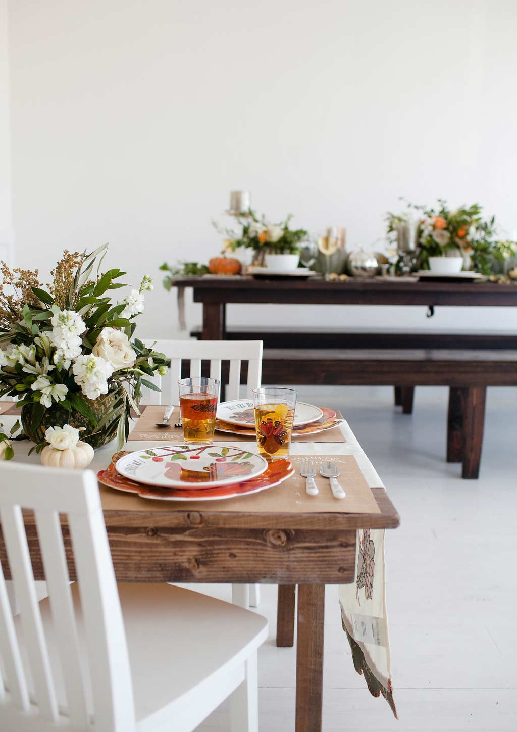Pottery Barn Kids Decor  Adult and Kids Thanksgiving Table Decor