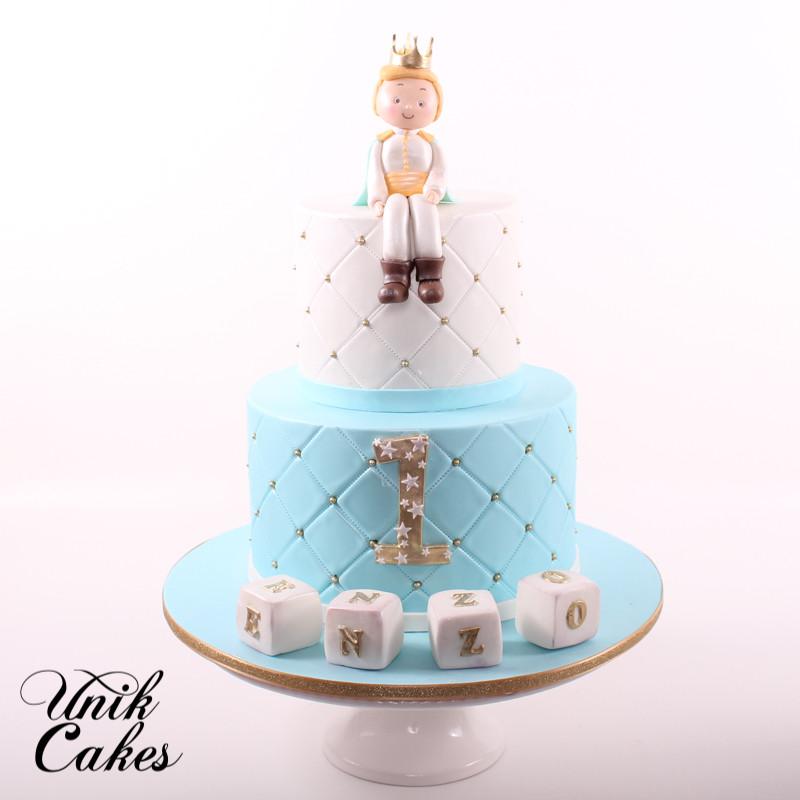 Prince Birthday Cake  Unik Cakes Wedding & Speciality Cakes