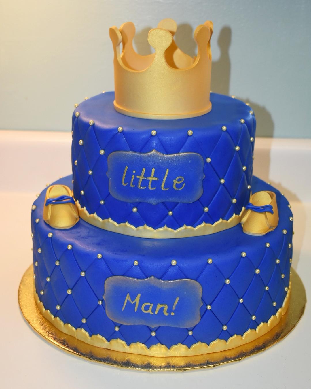 Prince Birthday Cake  Gotcakes Little King Birthday Cake