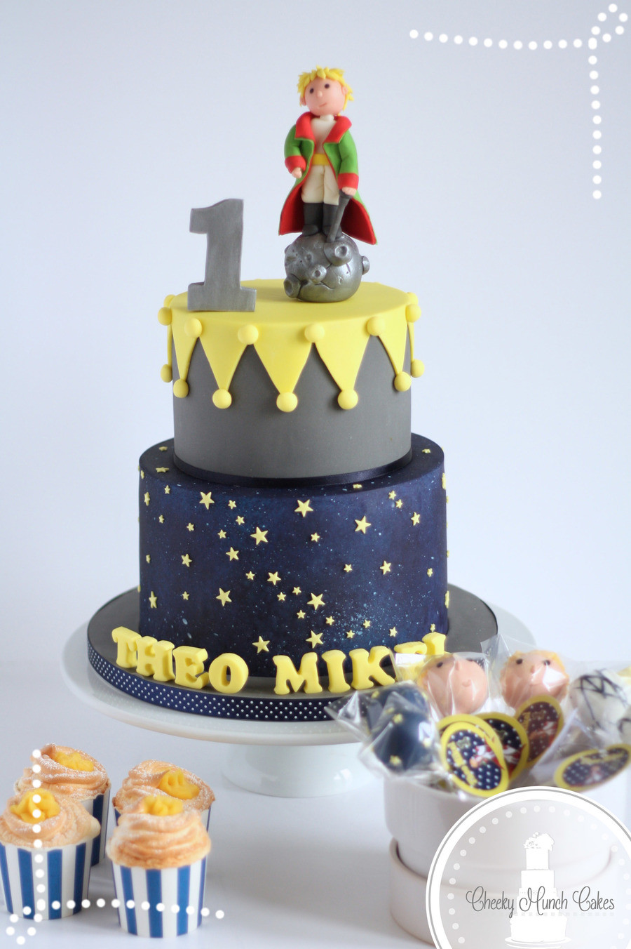 Prince Birthday Cake  The Little Prince Cake CakeCentral
