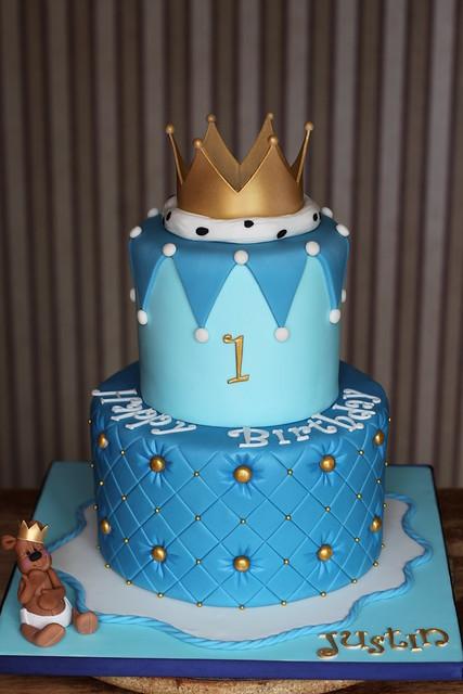 Prince Birthday Cake  Little Prince cake