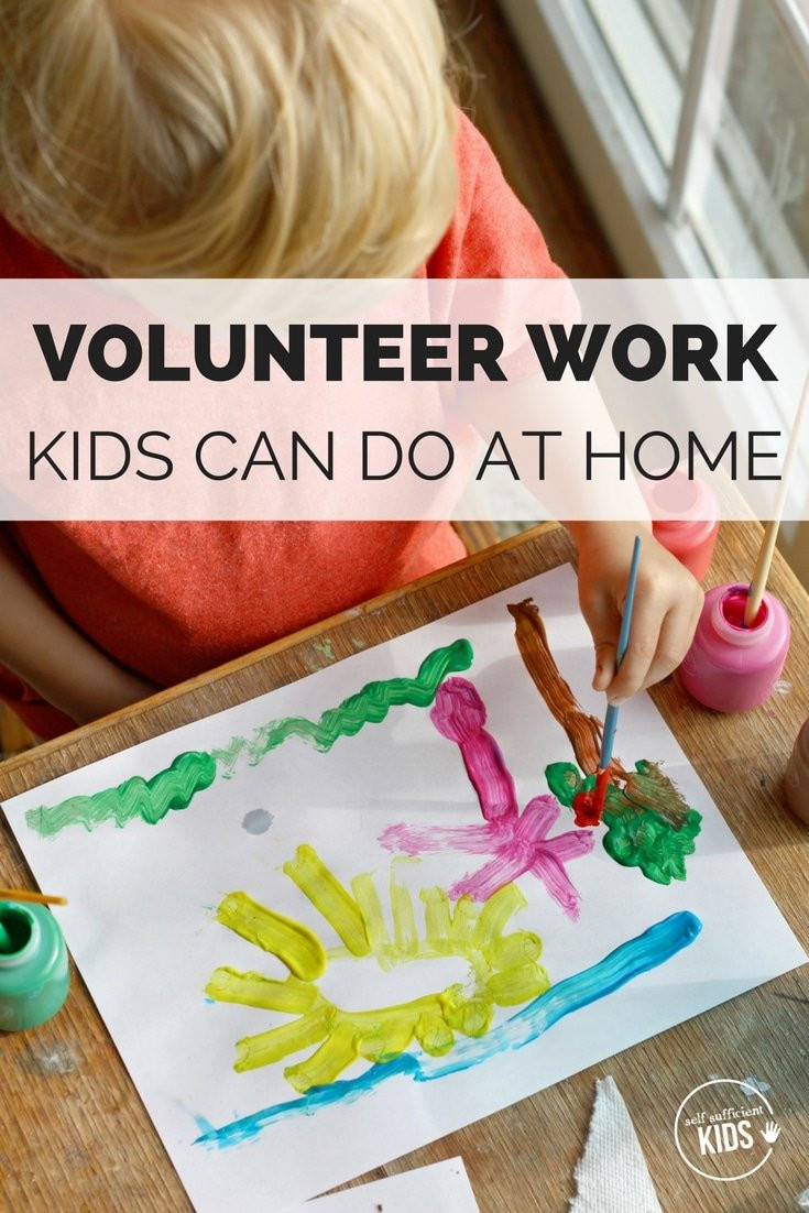Projects For Kids At Home  7 Kids Volunteer Projects You Can Do at Home