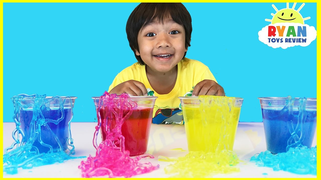 Projects For Kids At Home  Instant Worms Polymer Science Experiments for Kids to do