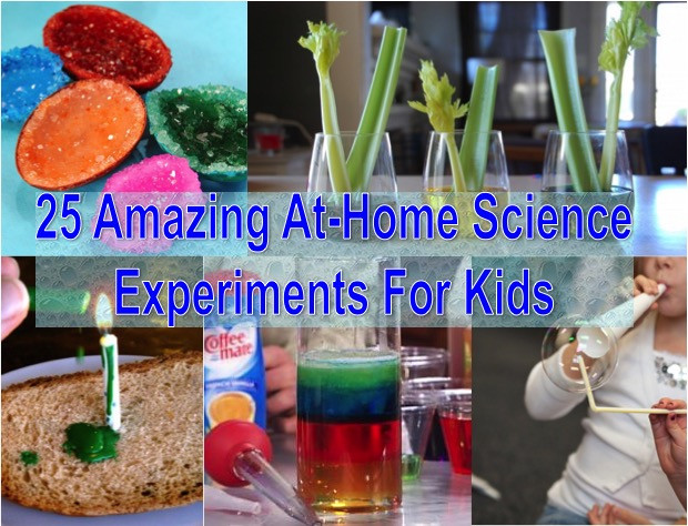 Projects For Kids At Home  25 Amazing At Home Science Experiments For Kids Find Fun