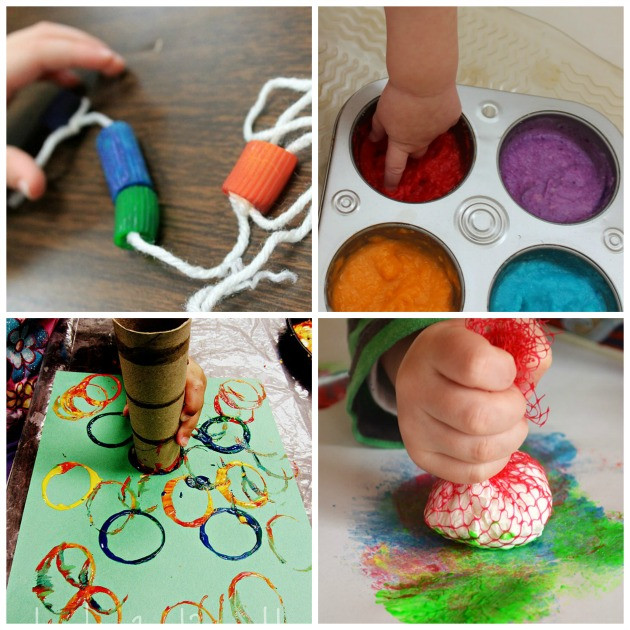Projects For Kids At Home  20 Fun and Easy Toddler Activities for Home