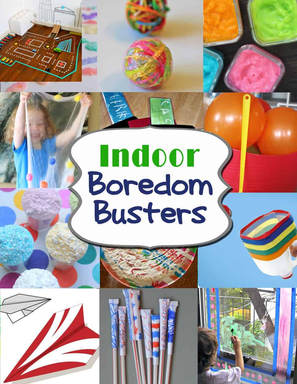 Projects For Kids At Home  Indoor Boredom Busters