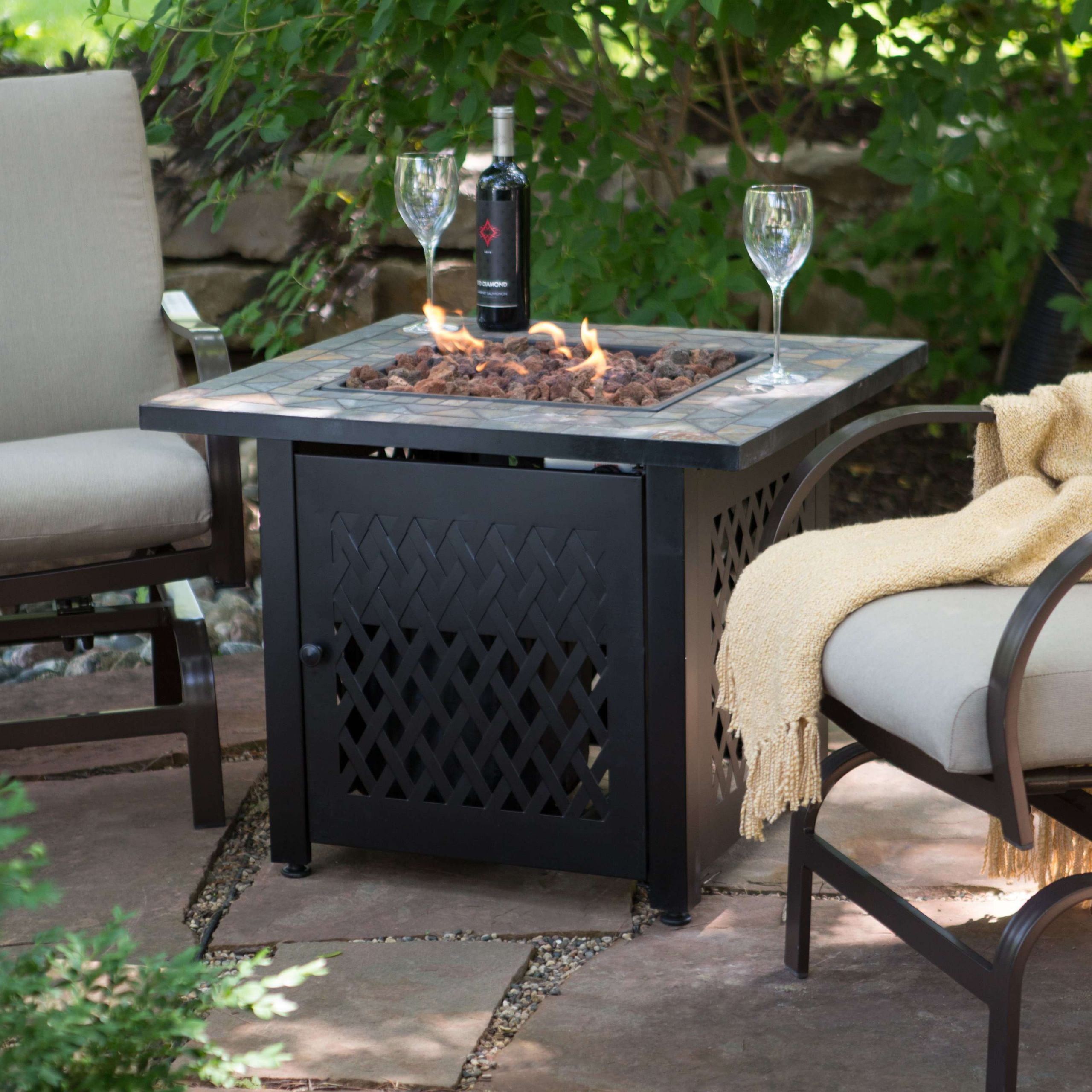 Propane Fire Pit Coffee Table  14 Propane Fire Pit Coffee Table Ideas