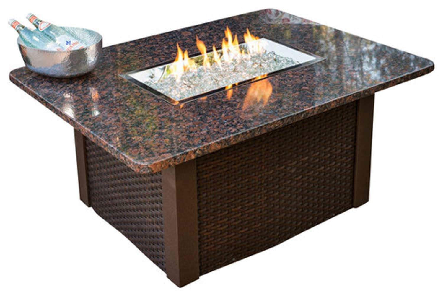 Propane Fire Pit Coffee Table  Outdoor Greatroom Grandstone Gas Fire Pit Coffee Table