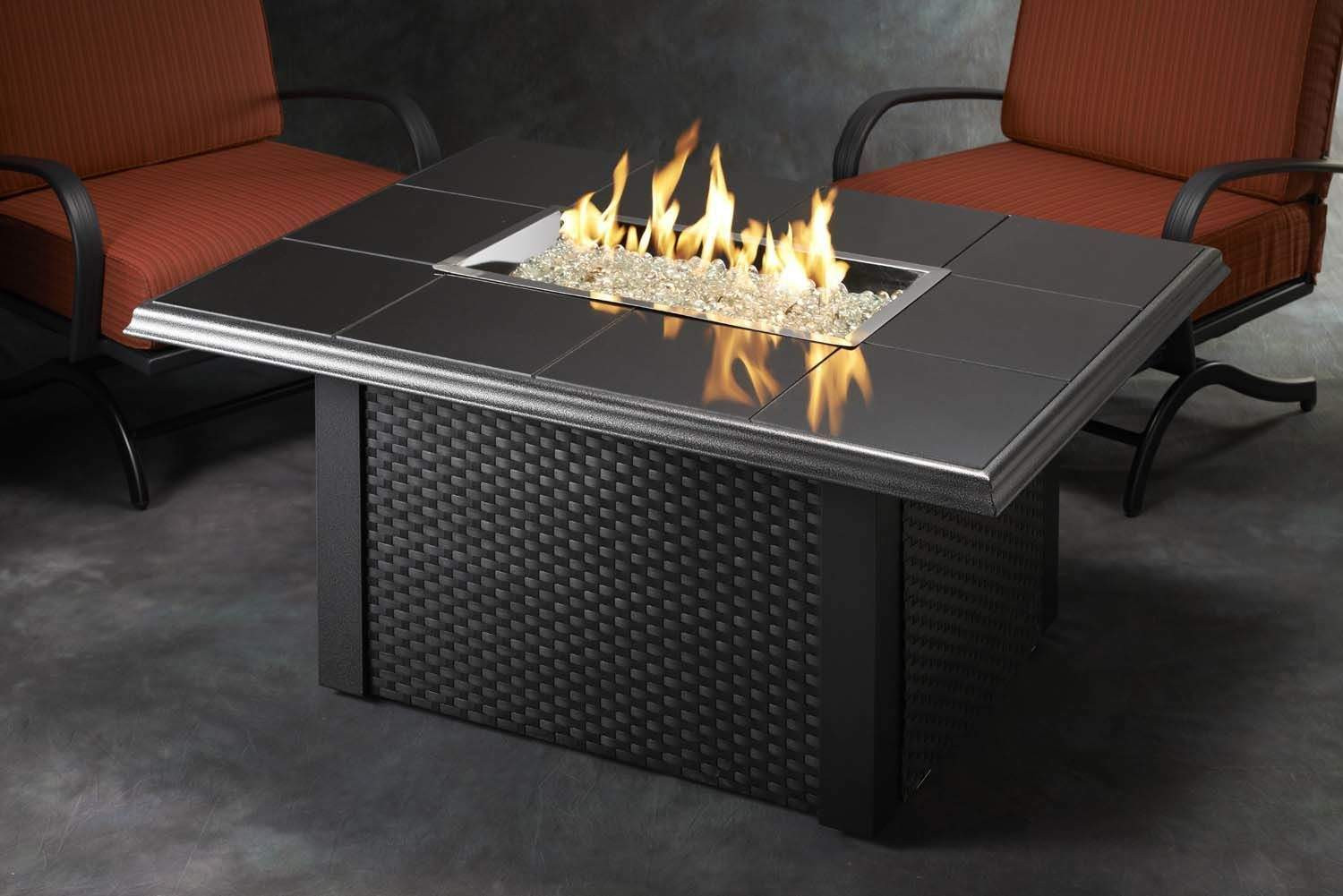Propane Fire Pit Coffee Table  Outdoor Greatroom Napa Valley Gas Fire Pit Coffee Table