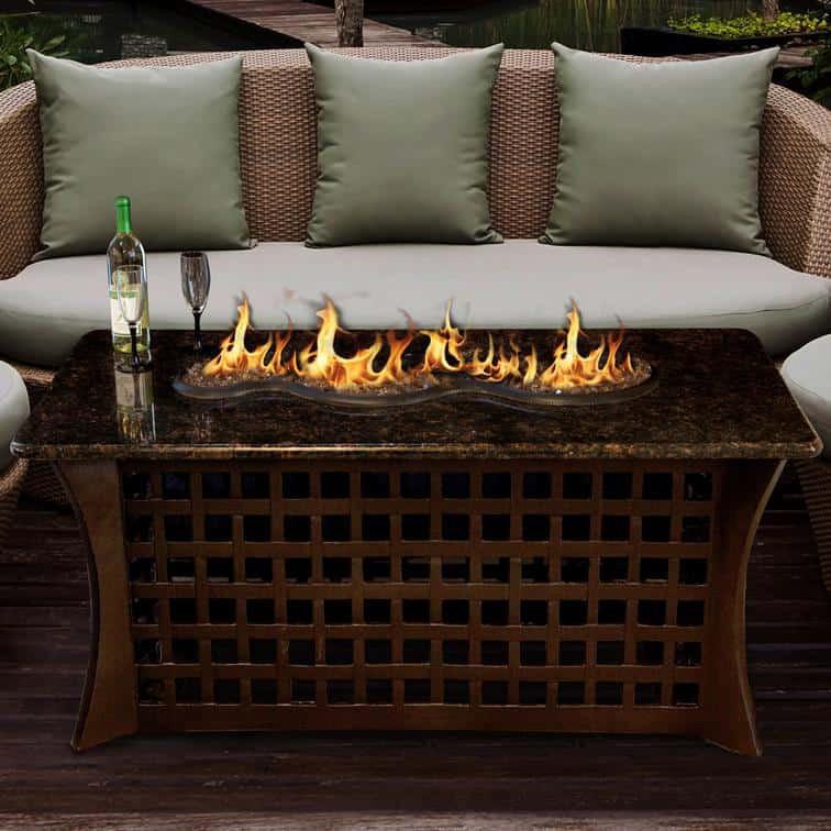 Propane Fire Pit Coffee Table  10 Backyard Fire Pit Ideas