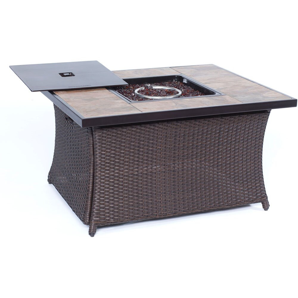 Propane Fire Pit Coffee Table  Cambridge Propane Fire Pit Table & Reviews
