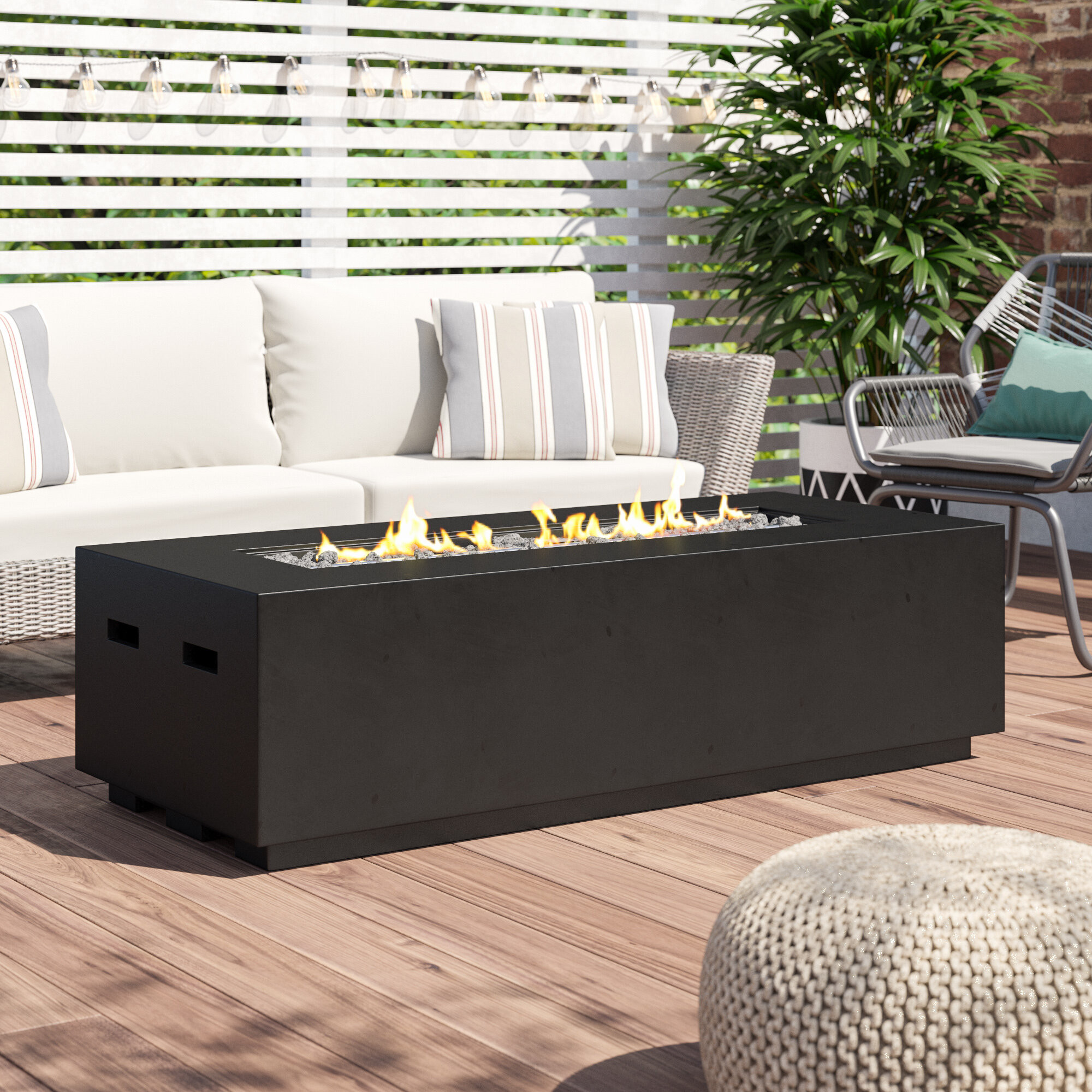 Propane Fire Pit Coffee Table  Coffee Table Fire Pit Propane