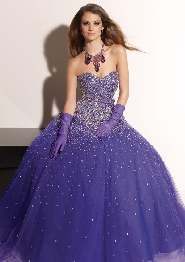 Purple Wedding Gown  Wedding Lady Purple Wedding Dress Ideas