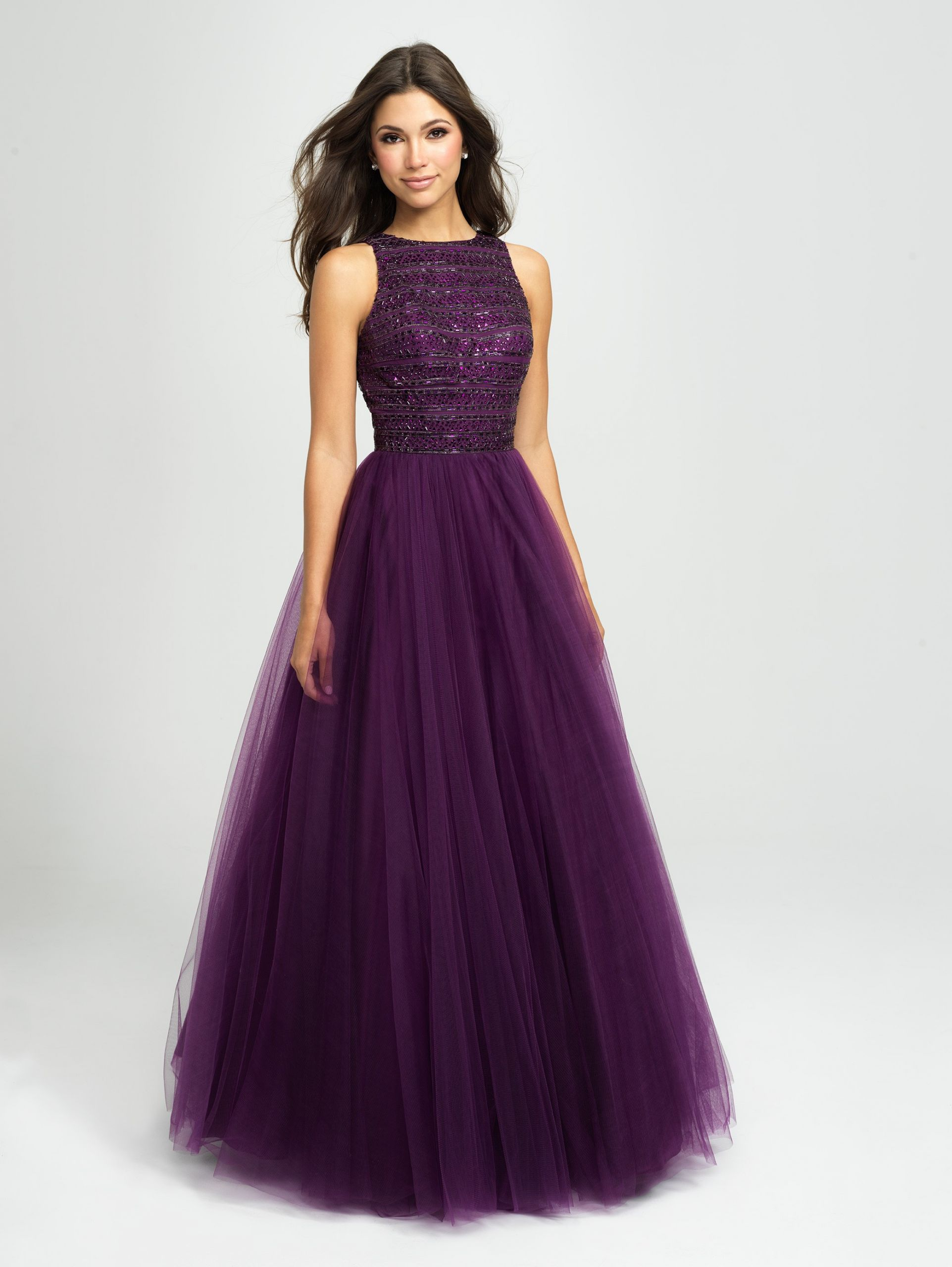 Purple Wedding Gown  29 of the Best Colourful Wedding Dresses for 2019