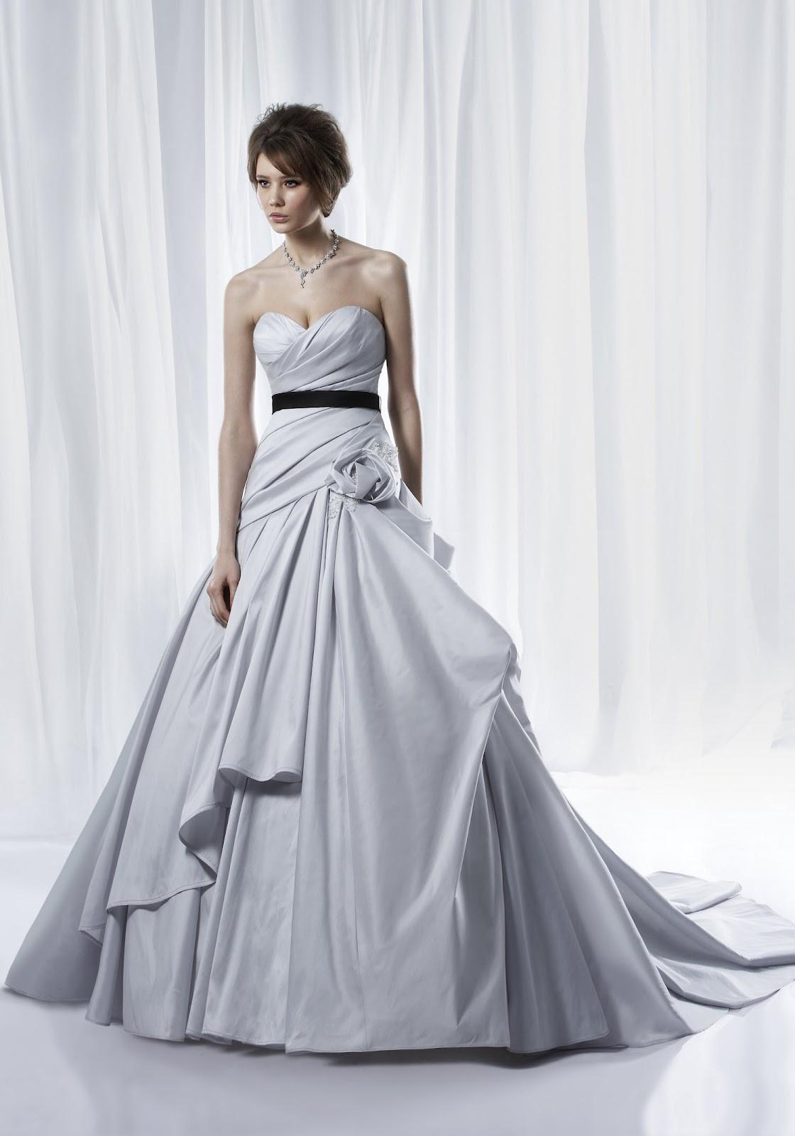 Purple Wedding Gown  Wedding Lady Light Purple Excellent Bridal Gown