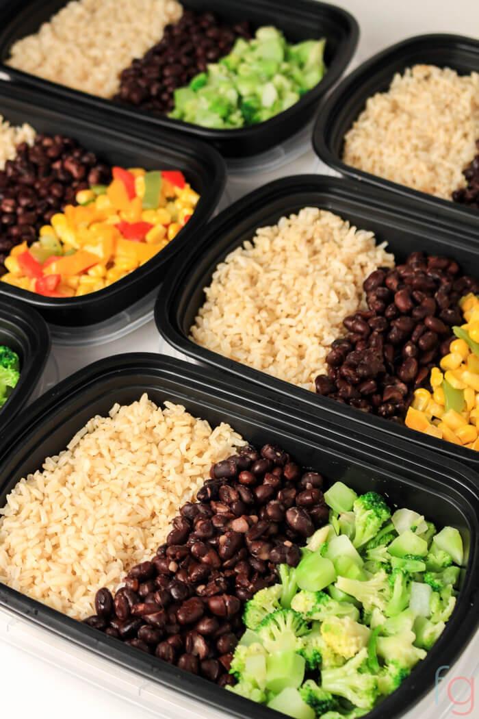 Quick And Easy Vegan Recipes  Easy Ve arian Meal Prep 30 Minute Vegan Meal Prep