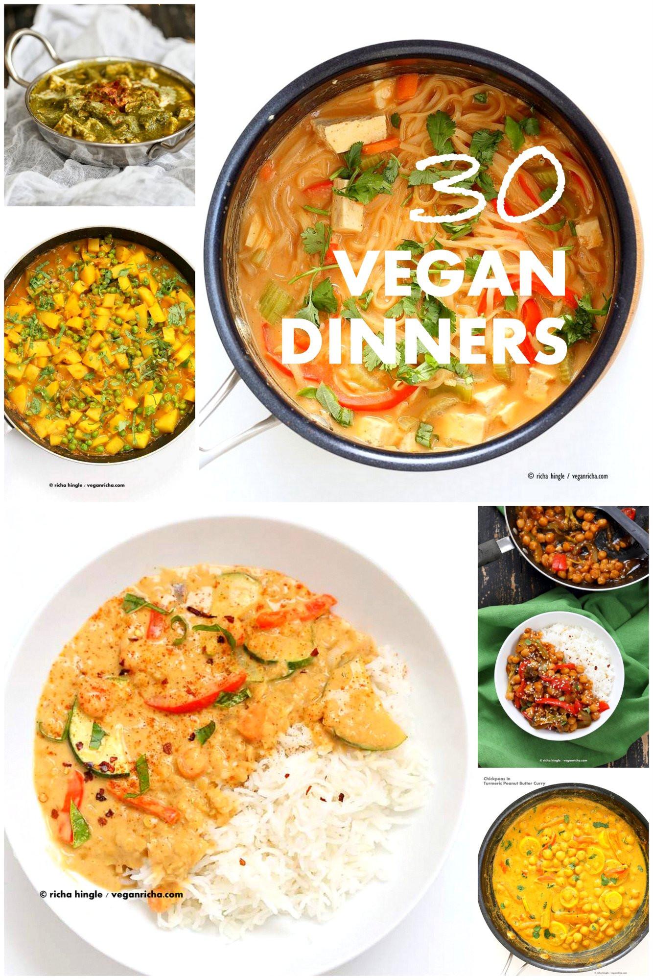 Quick And Easy Vegan Recipes  30 Easy Vegan Dinner Recipes Vegan Richa
