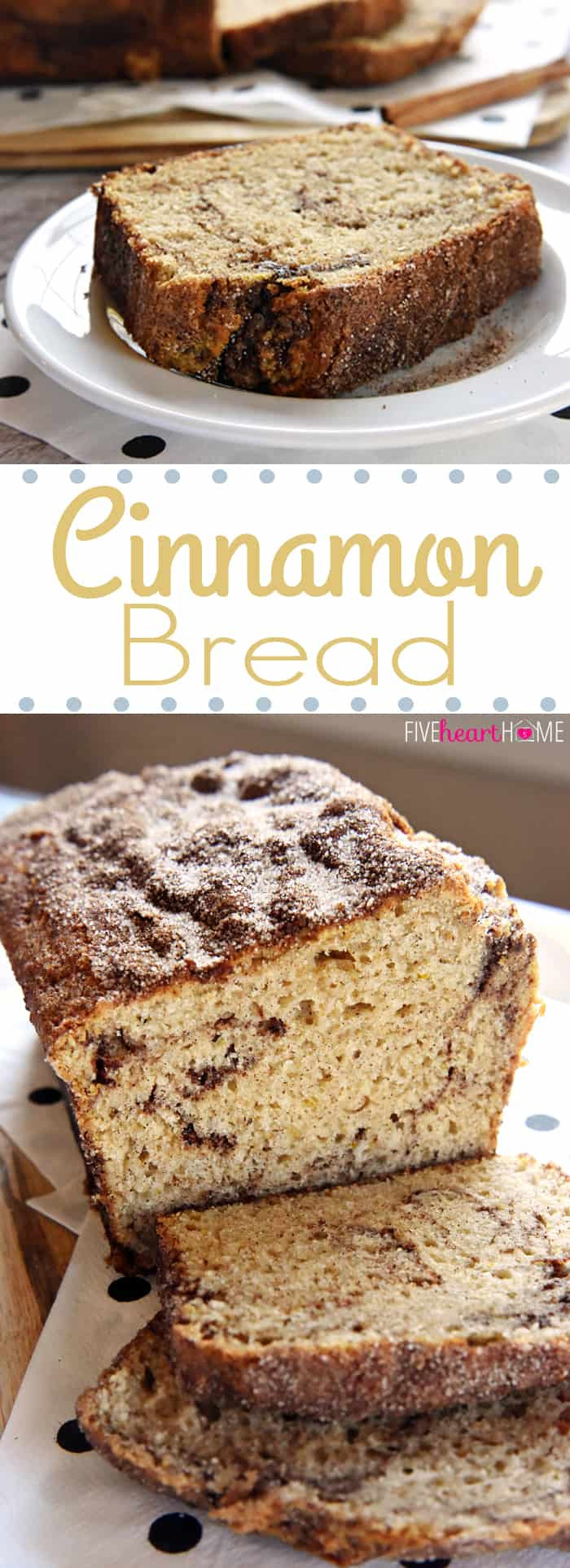 Quick Breakfast Recipes With Bread  Cinnamon Bread No Yeast Quick Bread