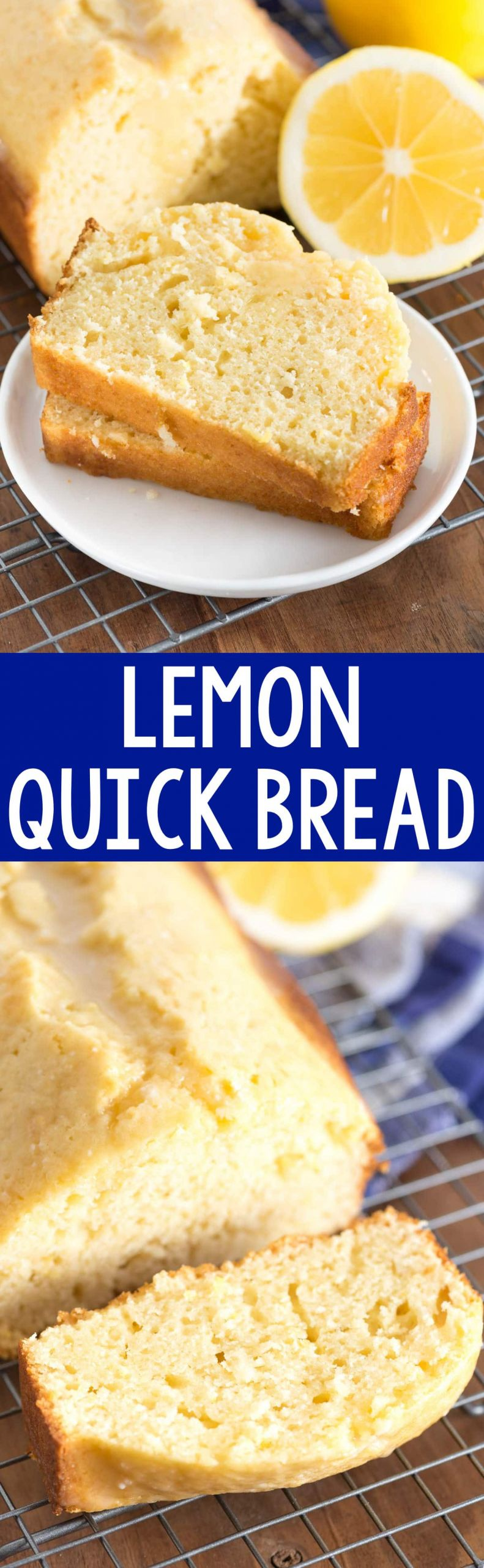 Quick Breakfast Recipes With Bread  Lemon Quick Bread Crazy for Crust