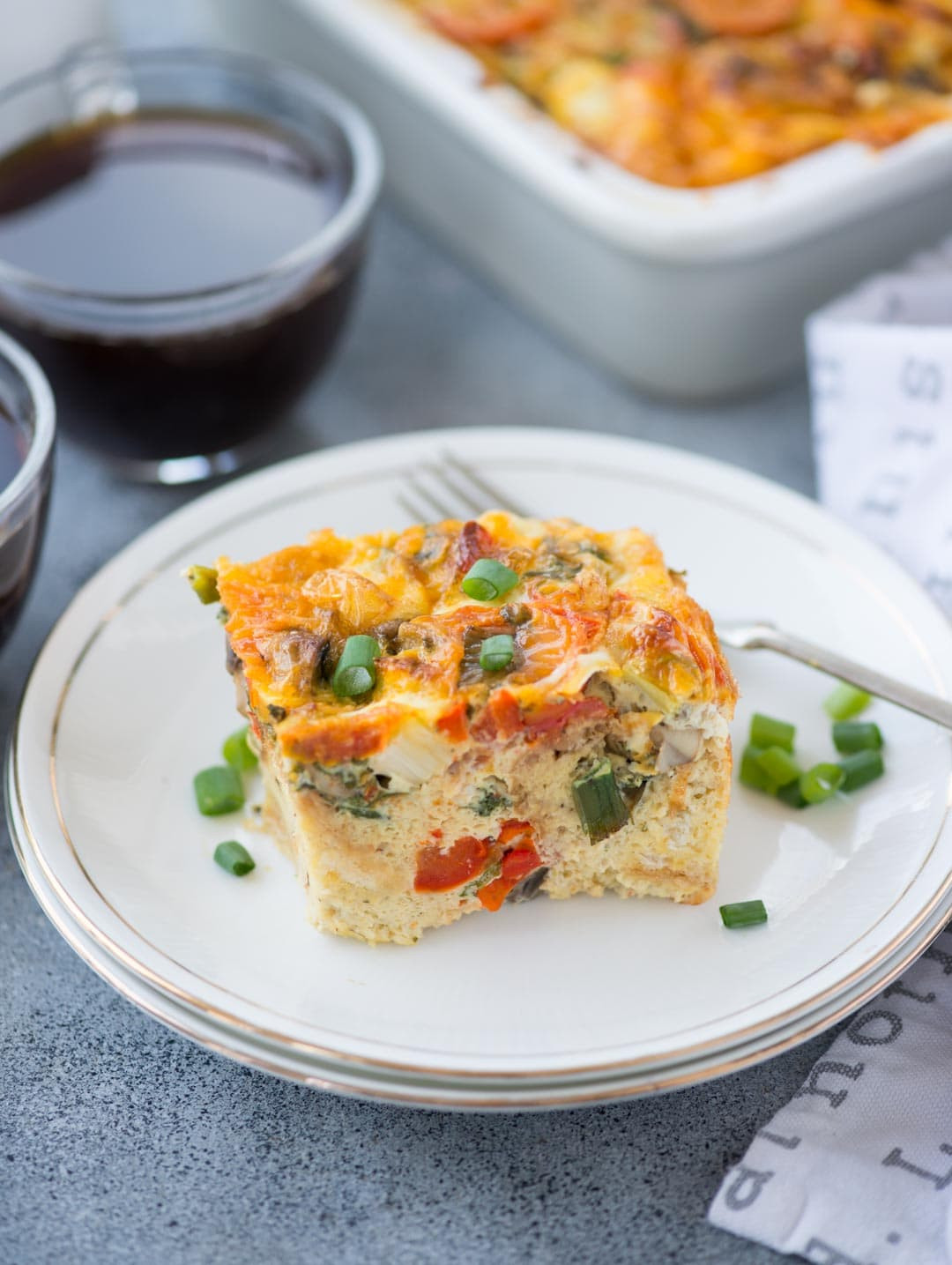 Quick Breakfast Recipes With Bread  EASY BREAKFAST CASSEROLE WITH BREAD The flavours of kitchen