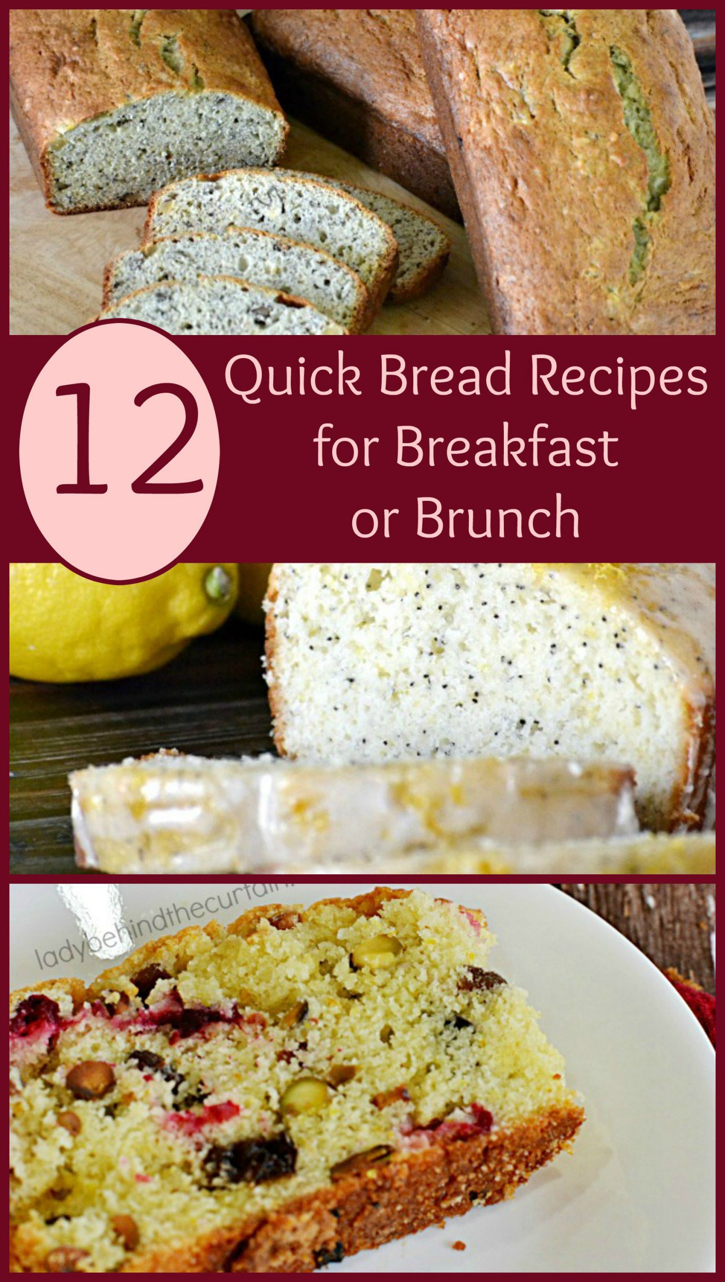 Quick Breakfast Recipes With Bread  12 Quick Bread Recipes for Breakfast or Brunch