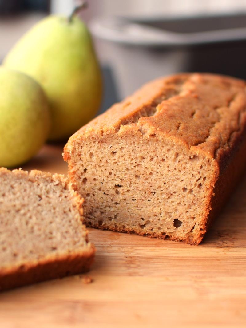 Quick Breakfast Recipes With Bread  Spiced Pear Breakfast Bread Recipe Dairy Free