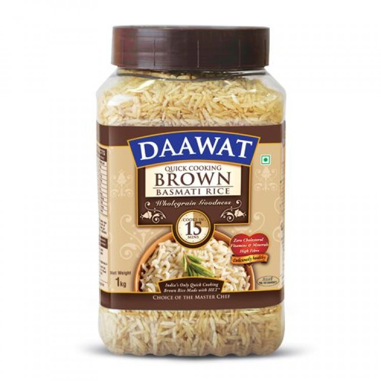 Quick Cook Brown Rice  Daawat Basmati Rice Brown Quick Cooking
