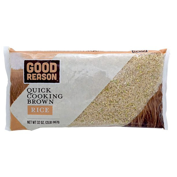 Quick Cook Brown Rice  Good Reason Quick Cooking Brown Rice 2 Lb Walmart